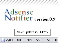 AdSense status bar for Firefox