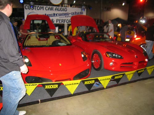 Ferrari F430 and Dodge Viper from Hot Import Nights 2007 Washington DC
