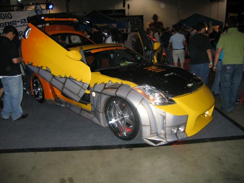 Yellow 350z from Hot Import Nights 2007 Washington DC