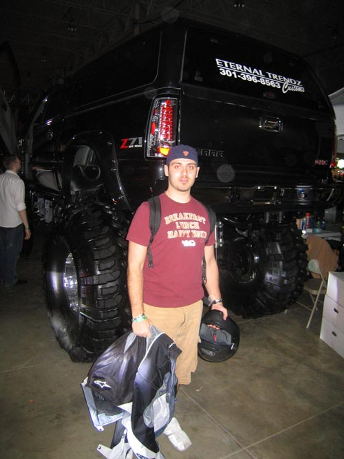 Me in front of a lifted truck at Hot Import Nights 2007 Washington DC