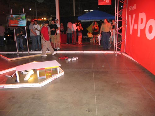 Drifting remote control cars from Hot Import Nights 2007 Washington DC