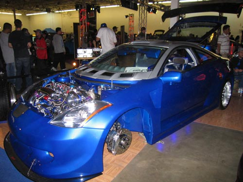 Toyota Celica that looks like a Nissan 350Z from Hot Import Nights 2007 Washington DC