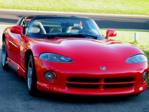 My new Dodge Viper front