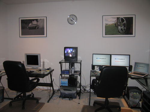 Picture of my home office