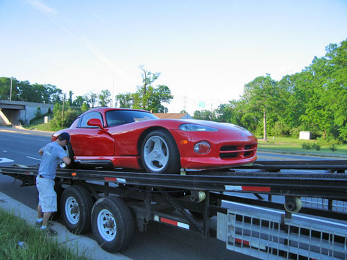 My Dodge Viper Arrives