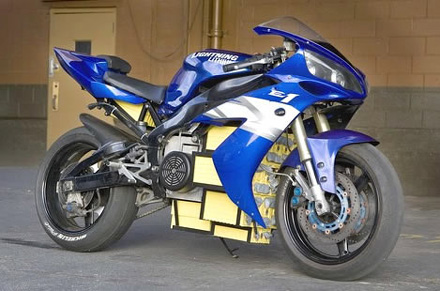 Yamaha R1 LiIon motorcycle