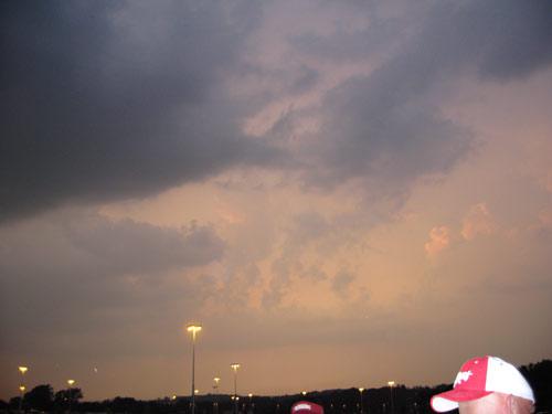 Lighter sky