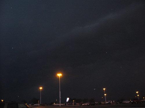 Darker sky