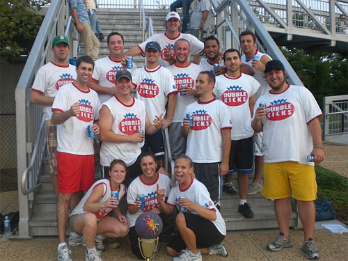 Kickball champions
