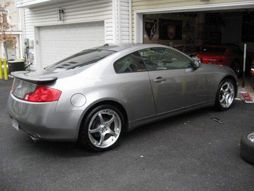 G35 Coupe With Volk Wheels