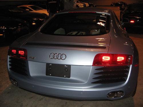 Audi R8 rear