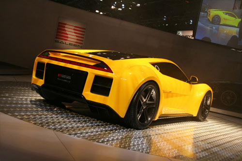 Saleen S5S Raptorrear quarter