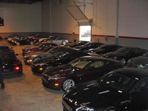 Supercar warehouse
