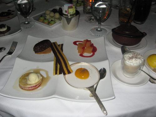Breakfast sampler at Citronelle