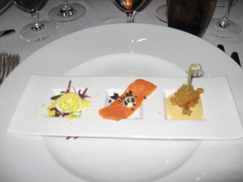 Pre-appetizer at Citronelle