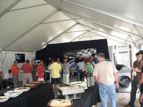 Lexus performance driving academy buffet