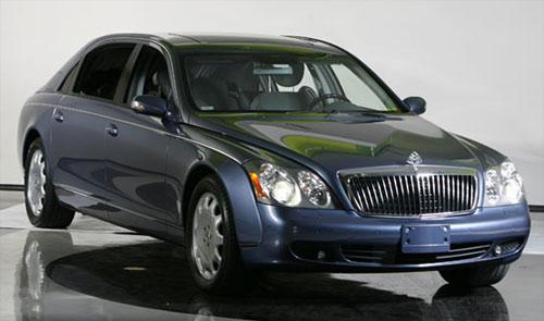 Mercedes Maybach 62