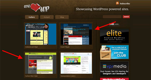My blogs featured on We Love WP