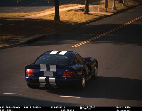 Viper speeding