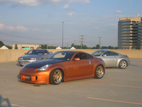 My old Nissan 350Z