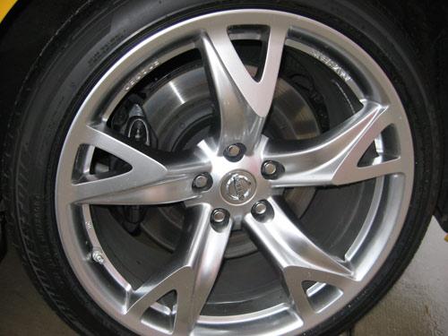 Nissan 370Z wheel