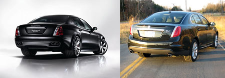 Maserati vs Lincoln MKS