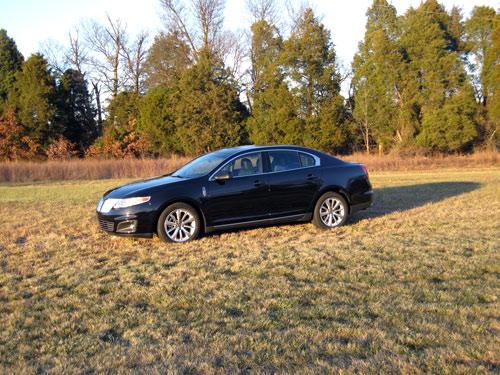 2009 Lincoln MKS side