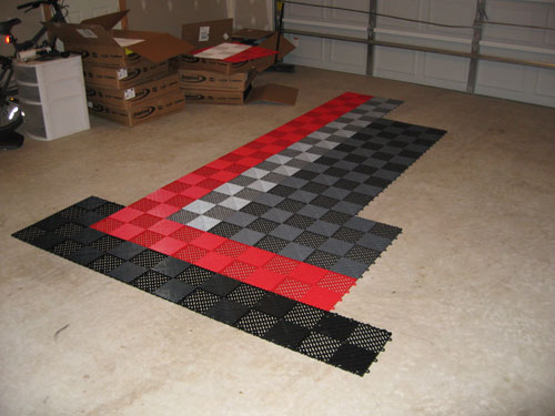 Installing RaceDeck floor in my garage