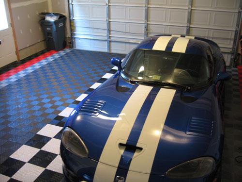 Installing RaceDeck floor in my garage